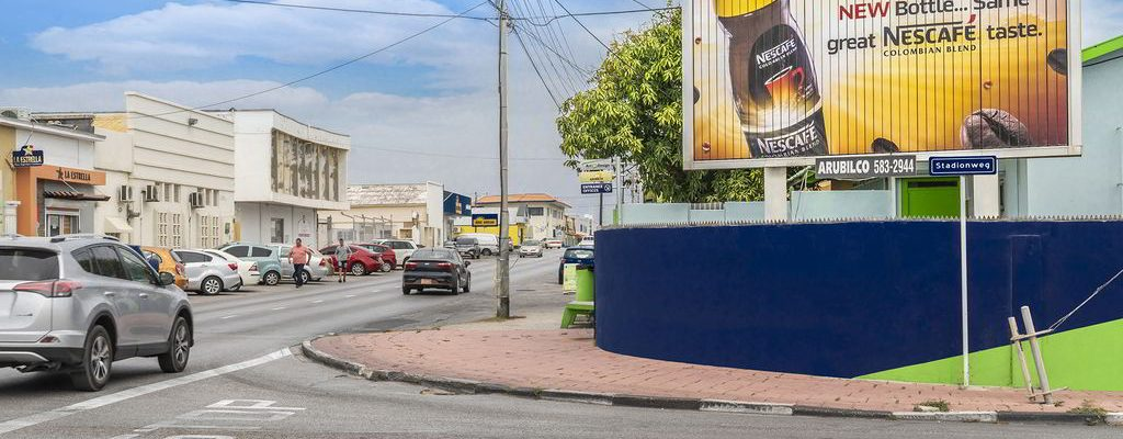 Billboard ad for Nescafe