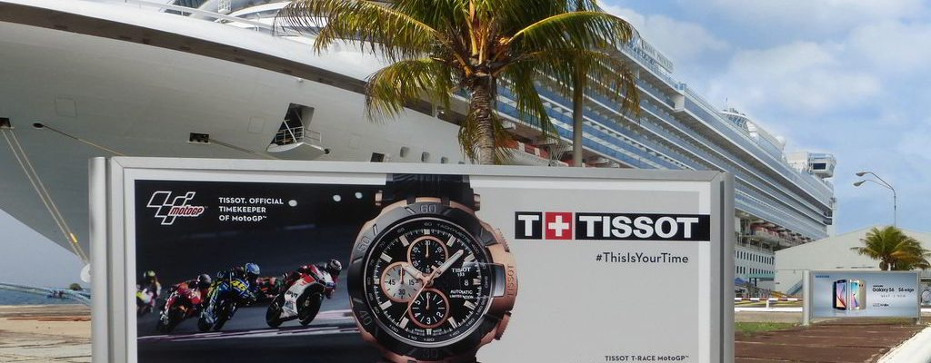 Advertisement at the Cruise Port