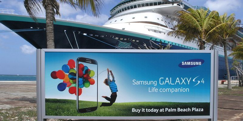 Cruise Port Billboard